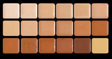 Graftobian HD High Definition Color Crème Foundation Super Palette 18 WARM