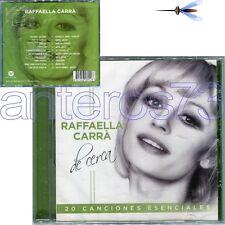 """RAFFAELLA CARRA' """"DE CERCA"""" RARO CD IN SPAGNOLO 20 BRANI - SIGILLATO"""