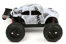 Custom Buggy Body Newspaper Styl for ARRMA Outcast Notorious 1/8 Car Cover Shell