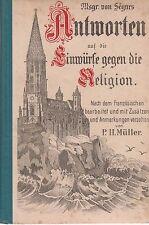 De Ségur: risposte alle obiezioni contro la religione (illustrato) 6.a. 1900