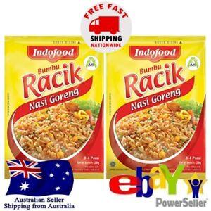 2x Indofood Racik Nasi Goreng Fried Rice 20g Halal Instant Seasoning Sauce