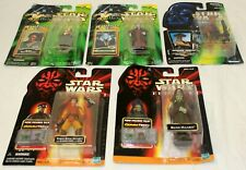 Hasbro Star Wars 5 Figure Lot Shmi Mas Amedda Hammerhead Rune Naboo Sealed