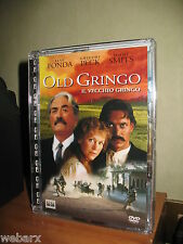 OLD GRINGO DVD NUOVO SIGILLATO SUPER JEWEL GREGORY PECK JANE FONDA