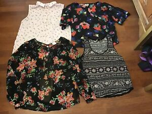 Bundle Of Womens Tops, Blouses, Dorothy Perkins, George Size 10