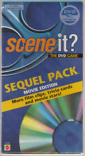 Sealed Scene It Sequel Pack New Dvd 100 New Trivia Cards 300 Questions Unopened