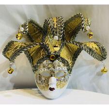 Yellow Masquerade Mask Venetian Theater Mardi Gras Masks Women Party Prom Ball