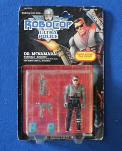Robocop Ultra Police Dr. McNamara Vandals Action Figure MOC Kenner Toys