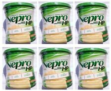 6 X Abbott Nepro HP Powder Vanila Nutrition High Energy - 400 gm DHL Ship to USA