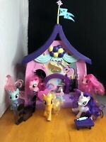 My Little Pony Pinkie Pie Beats & Treats Magical Classroom Play Set  5 Ponys