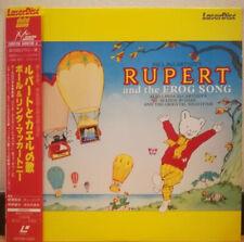 Rupert And The Frog Song - Japanese Laserdisc - RARE + OBI Strip