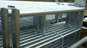 IAE BRITISH MADE GALV 7 RAIL NATIONAL CHANNEL END Metal Farm Field Security