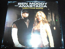 Ben Moody / Anastacia Everything Burns Australian Enhanced CD Single - Like New
