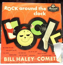 Bill Haley And His Comets/Rock Around the Clock/1955 Brunswick LP Clean Vinyl