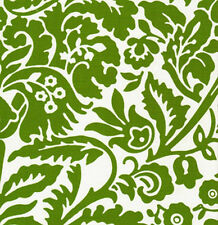 Jennifer Paganelli Sis Boom West Indies Chandler Fabric in Moss JP52