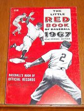 The Little Red Book of Baseball 1967  Baseball's Book of Official Records