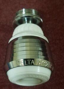 "Delta 15/16"" 27-in 55/64"" 27-in Chrome/White Dual Standard Swivel Aerator 247RSA"