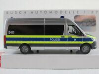 """Busch 52607 Mercedes-Benz Sprinter Bus (2018) """"Polizei Bayern"""" 1:87/H0 NEU/OVP"""
