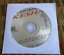 KESHA KARAOKE HITS CDG CD+G 2011/2012 FASTTRAX FTX-1019 ($19.99) TEEN POP MUSIC