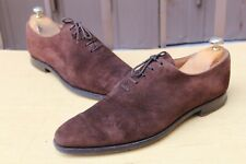 "CHAUSSURE CROCKETT&JONES ""ALEX"" DAIM 7 E 41 TRES BON ETAT MEN'S SHOES"