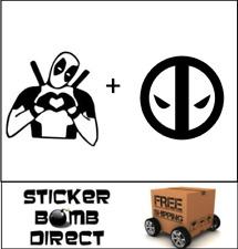 Deadpool 2 Decal Set Sticker Marvel Comics DC JDM The New Mutants S.H.I.E.L.D.