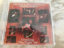 cracking the night 99 live YNGWIE MALMSTEEN RISING FORCE CD SUPER RARE