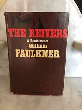 THE REIVERS A REMINISCENCE BY WILLIAM FAULKNER 1962 HARDCOVER 1ST PRINTING