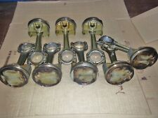 MASERATI QUATTROPORTE 4.2L SET OF 8 RODS ANDS PISTONS  -  USED