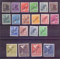 Berlin Schwarzaufdruck 1948 - MiNr 1/20 ungebraucht - Michel 130,00 € (686)