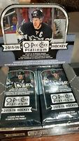 2015-16 o-pee-chee platinum NHL 4 card packs - See Details