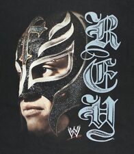 REY MYSTERIO / WRESTLER USA / WW WRESTLING / BLACK T-SHIRT SIZE M