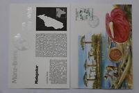 MADAGASCAR 5 ARIARY 1992 COIN COVER A98 - 71