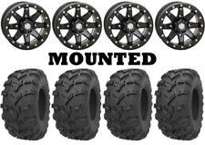Kit 4 Kenda Bearclaw EVO K592 26x9-14/26x11-14 on HD9 Beadlock Matte Black CAN