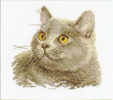 Cross Stitch Kit British cat art. 0-134