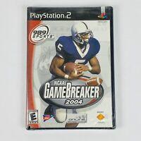 NCAA GameBreaker 2004 (Sony PlayStation 2, 2003) NEW / SEALED Football Game PS2