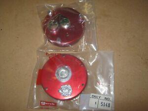 Vintage Abu Garcia Ambassadeur 5000 red side plate set New Old Stock