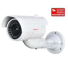 Fake Security Camera Dummy Ir Infrared with Blinking Light Led Surveillance Wl4