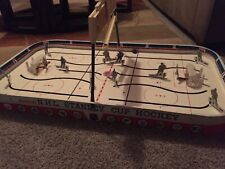 Vintage 1969 Coleco Eagle Toys NHL Stanley Cup Table Top Hockey Game #5330 &Box