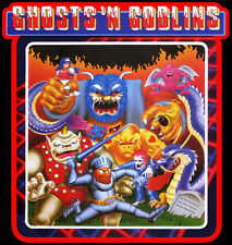 80's Nintendo Classic Ghosts 'N Goblins Video Game Art custom tee Any Size