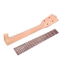 "Neck and Fretboard for 26"" Tenor Ukulele Guitar Parts Okoume wood and Rosewood"