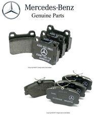 For Mercedes W124 W201 190E 260E 300E Set of Front & Rear Disc Brake Pad Genuine