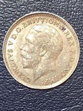 1919-GEORGIVS.V.DG.BRITT THREEPENCE SILVER RARE COIN ,