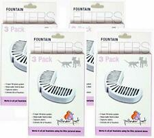 Pioneer Pet 4 Pack Replacement Filters for Ceramic and Stainless Steel Fountain