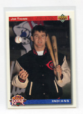 1992 UPPERDECK # 5  JIM THOME ROOKIE , INDIANS , PHILLIES