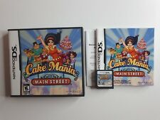 Cake Mania: Main Street (Nintendo DS)  Complete, tested, FAST FREE SHIPPING !!