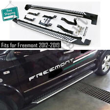 Side steps fits for FIAT Freemont 2013-2019 running board nerf bars protect beam