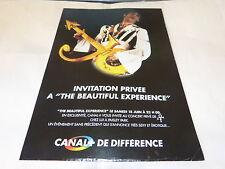 PRINCE - Publicité de magazine / Advert INVITATION PRIVEE !!!
