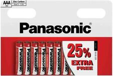 PANASONIC AAA R03 SIZE S 1.5V ZINC CARBON BATTERIES 10 PCS IN PACK
