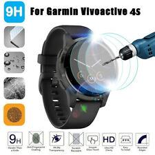 3PCS Full Cover Film Tempered Glass Screen Protector for Garmin Vivoactive 4S
