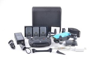 EXC++ DJI SPARK DRONE, 5 BATTERIES, SIGNAL BOOSTER, XTRA PROPS, TESTED, GREAT!