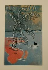 Original Upcycled Art 'Island In The Stream' by Joyce & Vicky